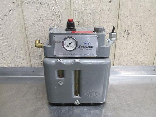 Bijur UBA SprayMist Coolant Generator System Pump 110/120v Valve Bridgeport R2E4