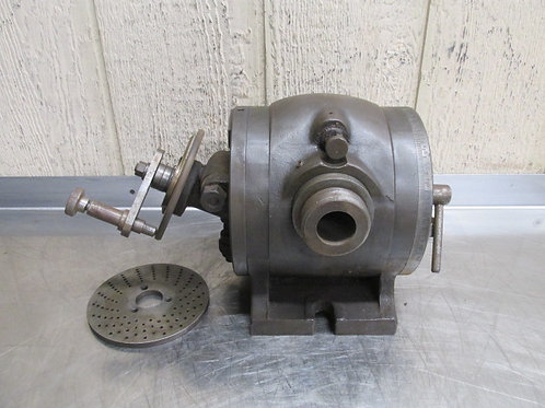 "L-W Chuck Co. Dividing Indexing Head 5-1/4"" Center Height"
