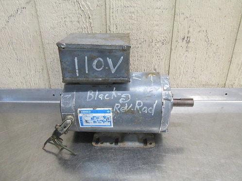 Gould Century 8-150445-02 Electric Motor 1.5 HP 115/230v 1725 RPM 1 PH P56HZ