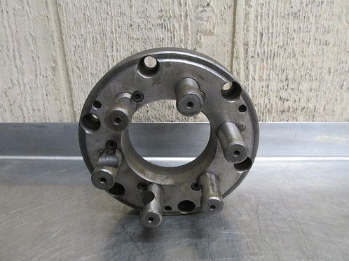 """6-1/4"""" Metal Lathe Chuck Adapter Plate Faceplate D1-5 Camlock Spindle Mount"""