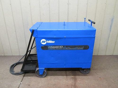 Miller Deltaweld 451 Welder Welding Power Source 450 Amp DC