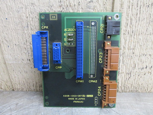 Fanuc A20B-1000-0970/04A CPU Circuit Control Board 30 Day Warranty