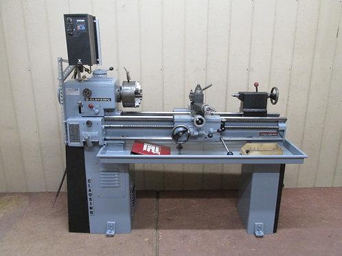 "Clausing Model 5914 Tool Room Metal Lathe 12"" x 36"" VFD 1 PH 220v 4 Jaw Chuck"