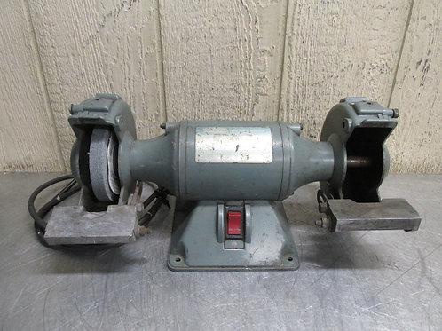 """Dayton Model 2Z425R Bench Top Grinder 6"""" 1/4 HP 115v 3450 RPM"""