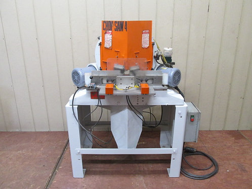 Pistorious MN200/EX Double Miter Mitre Framing Chop Saw w/Pneumatic Downfeed