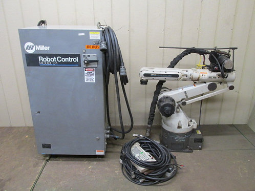 Miller MRV-6 Welding Robot Six Axis & Model C-1 Control + Cables Water Cooled