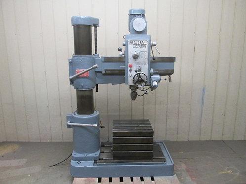 "Cleveland TPR-820 Radial Arm Drill Press 32"" 2 HP 220/440v 3 PH"