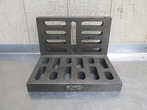 """Eron 12"""" x 9"""" x 8"""" Steel Machinist Right Angle Plate Setup Table Block Slotted"""