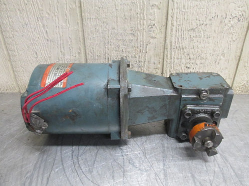 Ohio Gear B-133 Electric Reliance Gearmotor 1/3 HP 115 RPM 15:1 Ratio 230/460v