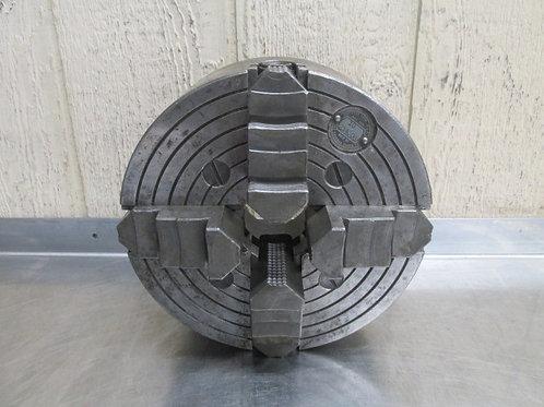"Cushman 214C-D6 10"" Diameter Independent 4 Jaw Chuck D1-6 Spindle Mount"