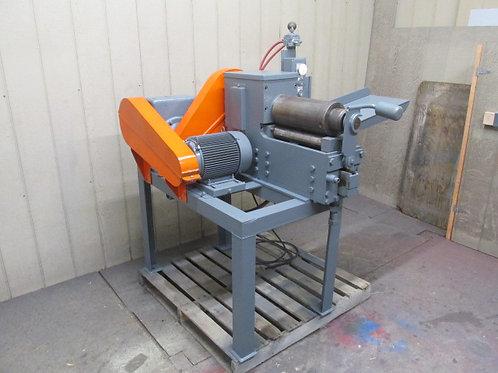 "Heavy Duty 14"" Power Slip Roller Bender Sheet Metal Rolling Forming Machine"