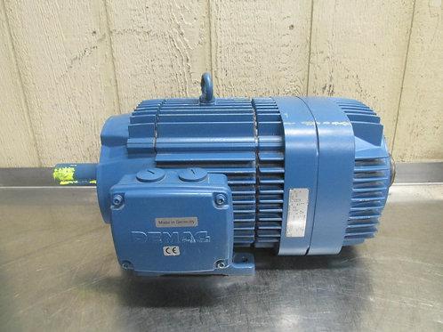 Demag KBA125-B-6-A Electric Motor 4.70 HP 230/460v 1135 RPM 3 PH