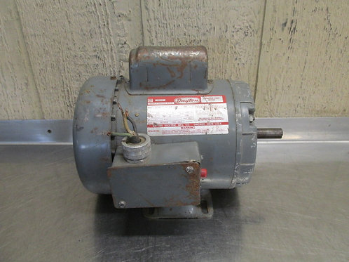 Dayton 6K358D Electric Motor 3/4 HP 115/230v 3450 RPM 1 PH Frame F56