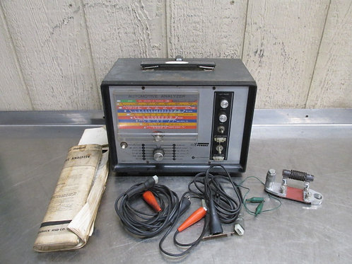 Sears Penske 244.21033 Automotive Analyzer Tool w/Manual Accessories