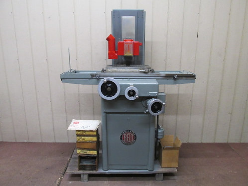 "Reid 618HA Precision Manual Surface Grinder 6"" x 18"" Magnetic Chuck 1 HP 3 PH"