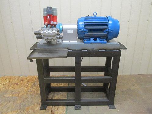 CAT 2530 Pressure Washer Plunger Pump w/Motor 1000 PSI 25 GPM 2530-30L90BT/BM