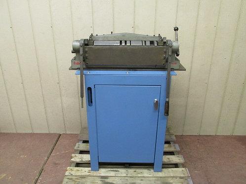"""Di-Acro No. 3 Precision Manual Metal Finger Box & Pan Brake 18"""" DiAcro 16 Gauge"""