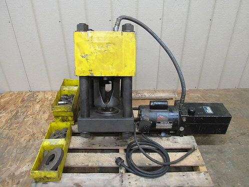 "Weatherhead ET4000 Coll-O-Crimp Hydraulic Hose Crimping Machine Crimper 2"" Cap."