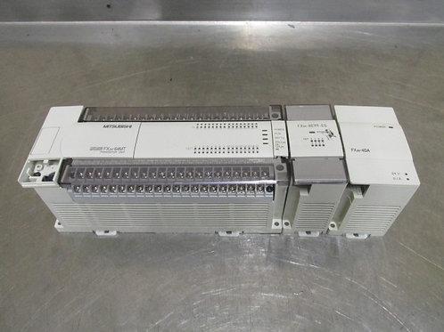 Mitsubishi FX0N-8EYR-ES FX2N-4DA FX2N-64MT Programmable Controller Power Supply