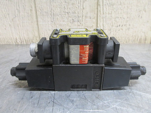 Parker D1VW20DNYCFR6-75 Hydraulic Directional Control Solenoid Valve 120v