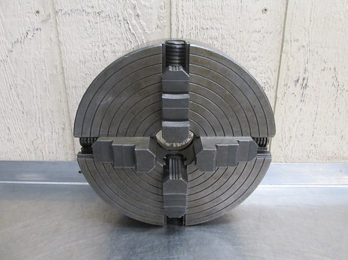 """The Skinner 912-L0-53 12"""" Diameter 4 Jaw Independent Chuck L0 Spindle Mount"""