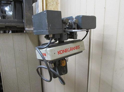 Konecranes XN05050015M32T1C Electric Chain Hoist w/Trolley 1/2 Ton 1000 Lbs 3 PH