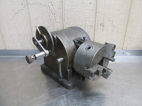 """L-W  Chuck Co 11"""" Indexer Dividing Indexing Head Super Spacer Tailstock 6"""" Chuck"""
