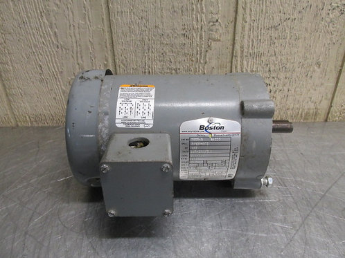 Boston Gear FUTF-B 34K29-872 Electric Motor 1725 RPM 1/2 HP 3 PH 208-230/460v