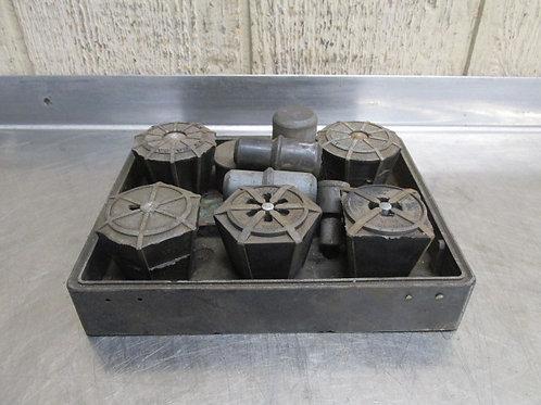 """Jacobs J910 J911 J912 J913 J914 Rubber Flex Collets Set 1/16"""" - 5/8"""""""