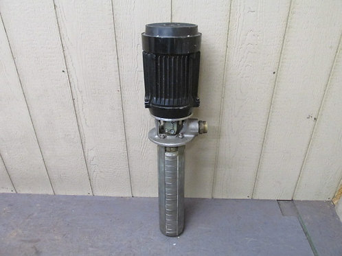 Grundfos CRKI4-140/7AWI-AUUV 4 HP 30.82 GPM Machine Coolant Pump 3 PH 480v