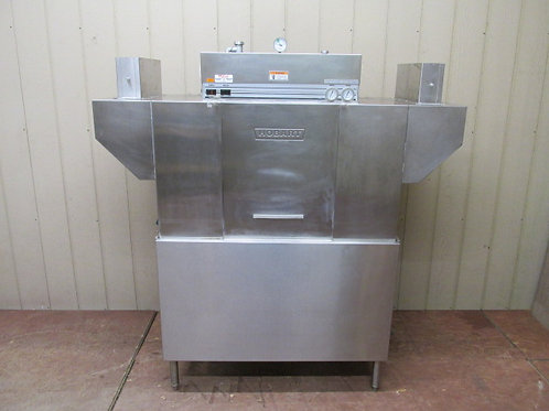 Hobart Model C44A Commercial Conveyor Dishwasher Unit 3 PH Table Available
