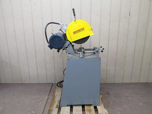 "Kalamazoo KM14 Cutoff Saw 14"" Single Cut Chop Saw Abrasive Non-Ferrous 5 HP"