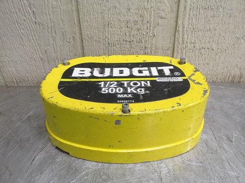 Budgit 32908774 Electric Chain Hoist End Cap Cover 1/2 Ton 1000 Lbs w/bolts