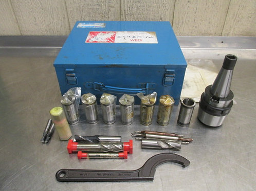 ATOM NMTB40 KM Collet Chuck Tool Holder Adapter Set Metric (Nikken)