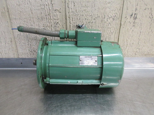 Siemens 1LA2036-6AA22 Electric Motor 3/4 HP 220/380v 900 RPM 3 PH .55 Kw