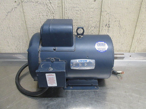 Leeson 131549.00 Electric Motor 5 HP 230v 3500 RPM 1 PH Frame 184T