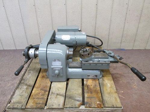 Hardinge HSL-59 Precision Speed Lathe w/Turret & 5C Collet Closer 1/2 HP 3 PH