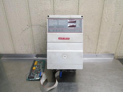Seco Mentor II Warner M4430-100200 DC Motor Drive w/Interface 30 HP 3 PH
