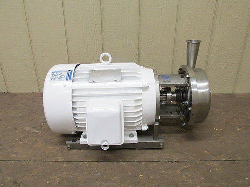 G&H GHH-20 Stainless Steel Food Grade Sanitary Centrifugal Pump 10 HP 300 GPM