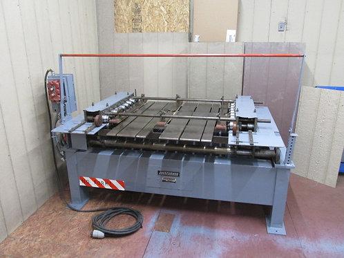 """Lockformer SN 9D Sheet Metal Duplex Rollformer 9 Station 48"""" 3 PH 3 HP"""
