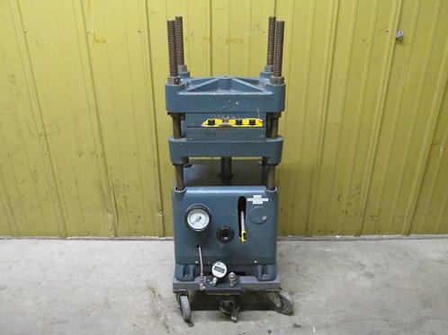 Wabash 12-12-S Hydraulic Platen Press 4 Post Press 12 Ton Manual Pump