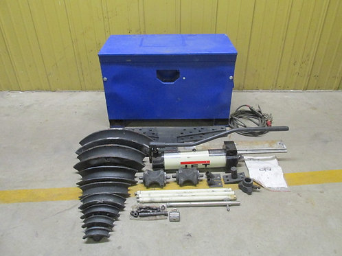"JET JHPB-30 331910 Portable Hydraulic Pipe Conduit Bender One Shot 3"" Cap"