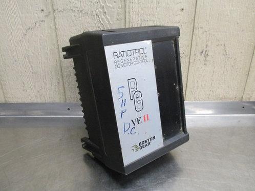 Boston Gear Ratiotrol VEA5-RG DC Motor Drive Variable Speed Control 5 HP