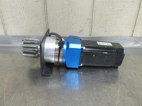 Delta ECMA-C20804S7 Servo Motor Gearmotor 10:1 Ratio 300 RPM 110v AC