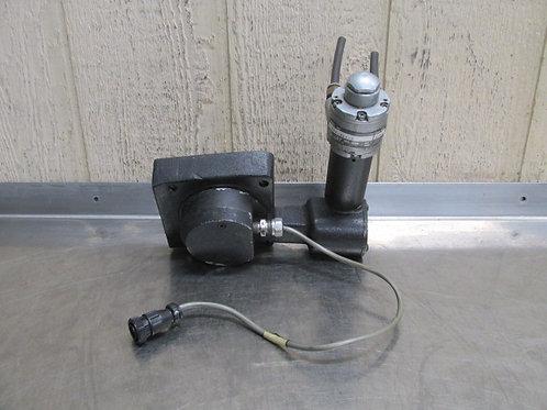 Bridgeport R2E4 Variable Speed Pulley Adjuster Assembly Gast 1UP-NRV-3 Motor