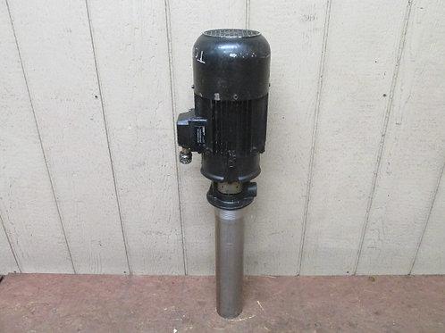 Brinkmann TC63S440+001 Immersion Coolant Pump 3 PH 230/460v 2.9 HP 15 GPM