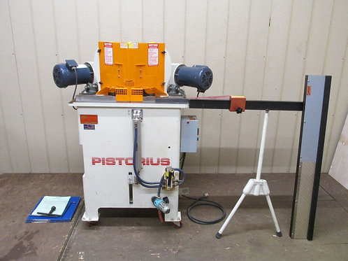 Pistorious EMN-12 Double Miter Mitre Framing Saw w/Pneumatic Downfeed 1 PH