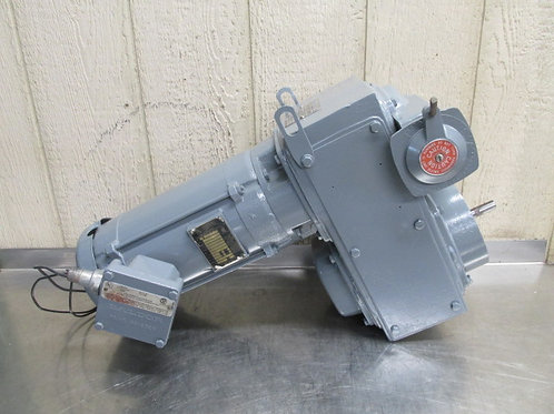 Sterling Speed-Trol Variable Speed Drive Gearmotor 466 to 4660 RPM 3/4 HP 3 PH