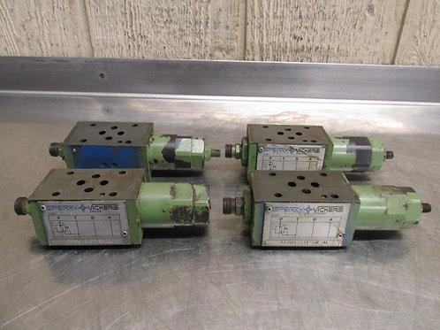 4 Vickers DGMFN-3-Y-A2W-B2W-20 Hydraulic Flow Control Pressure Reducing Valve
