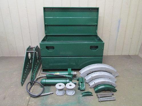 """Greenlee 883 Hydraulic Pipe Conduit Bender Set 2"""", 2-1/2"""", 3"""", 4"""""""